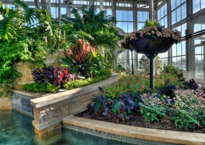 Lewis Ginter Botanical Garden Conservatory