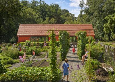 Tyler Arboretum Edible Garden